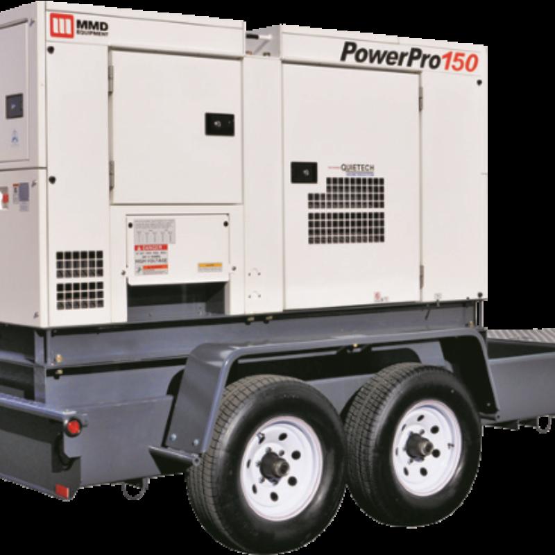 150kVA Towable Generator Rental - MMD PowerPro 150