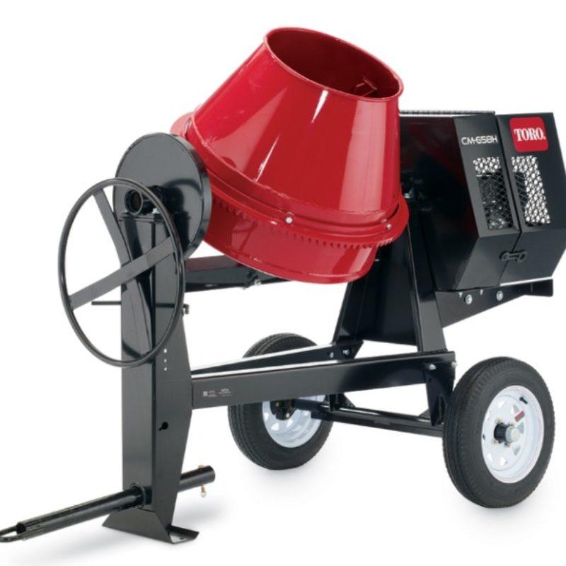 Concrete Mixer Rental - Toro CM-658H-S Concrete Mixer