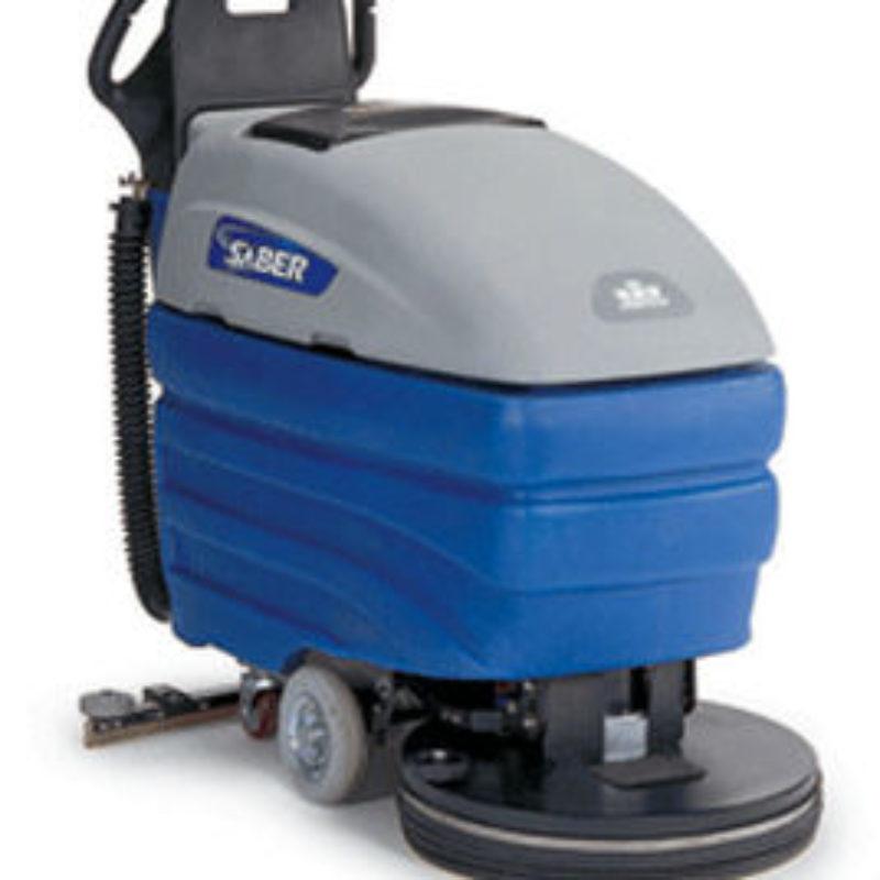 """20"""" Walk-Behind Electric Floor Scrubber Rental - Windsor Karcher Group Saber Compact 20"""