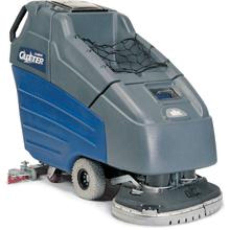 """26"""" Ride-on Electric Floor Scrubber — Windsor Karcher Group Saber Cutter 26"""