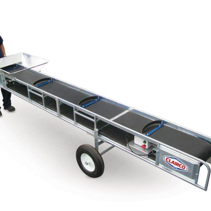 Lightweight Portable Conveyer Rental — Clairco CONV-12L
