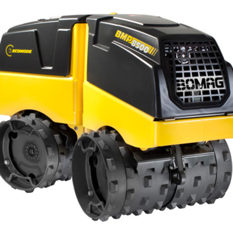 Remote Control Trench Compactor Rental — Bomag Trench Compactor BMP 8500
