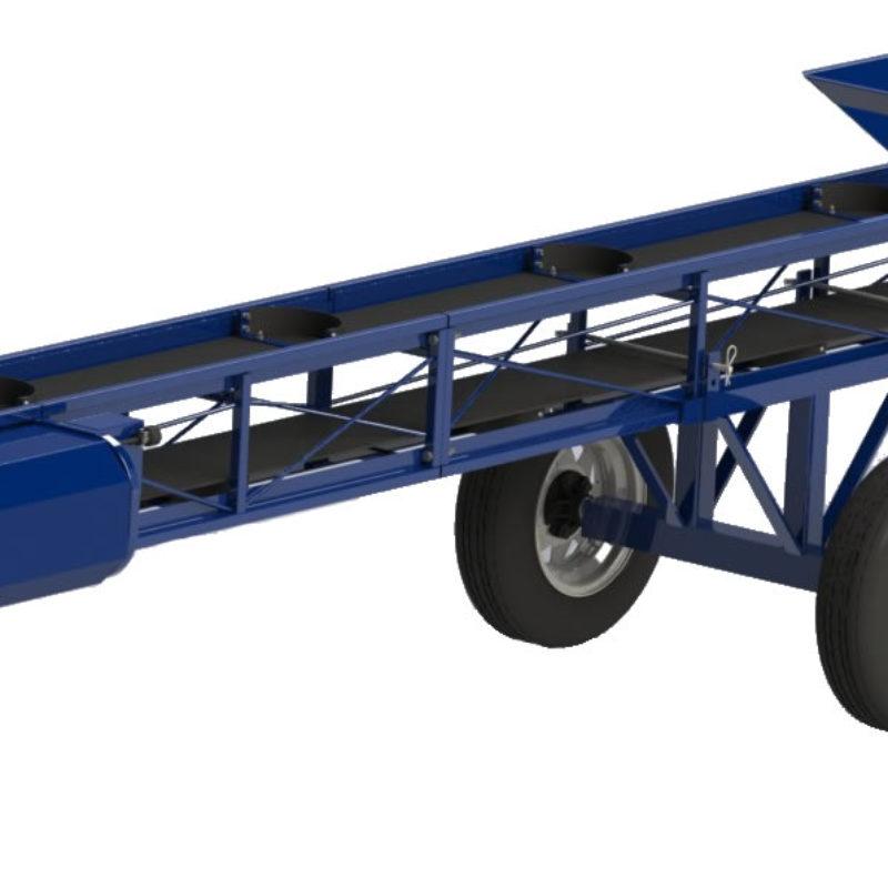 Flat Belt Portable Conveyer Rental — Clairco CONV-12