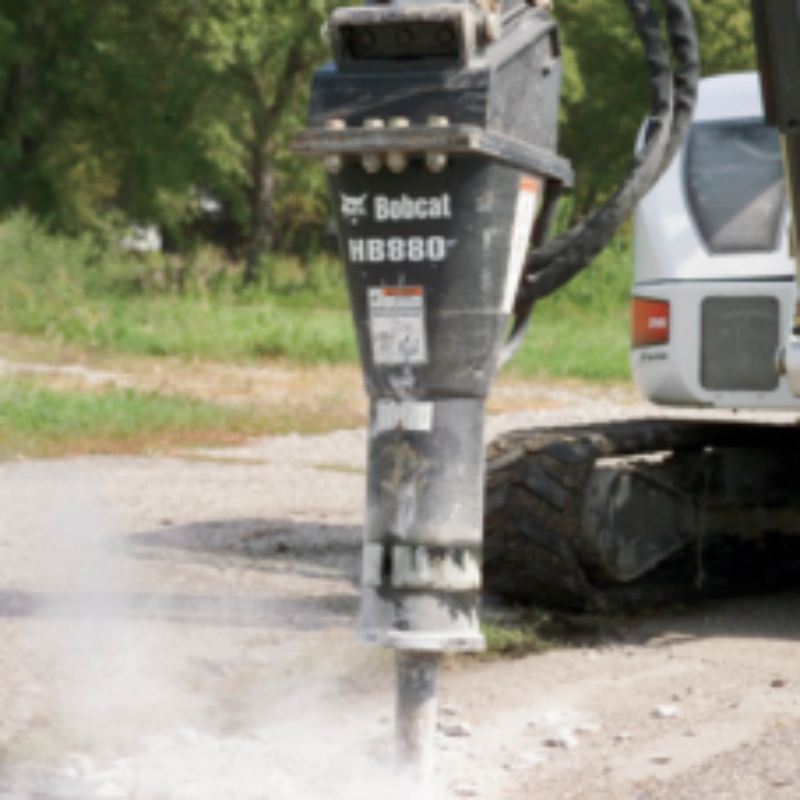Bobcat Hydraulic Breaker | The Duke Company