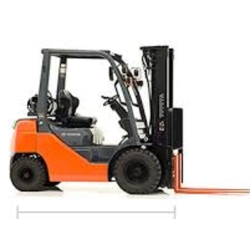 Toyota 8FGU25 Warehouse Type Fork Lift | The Duke Company