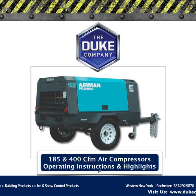 Towable Air Compressors
