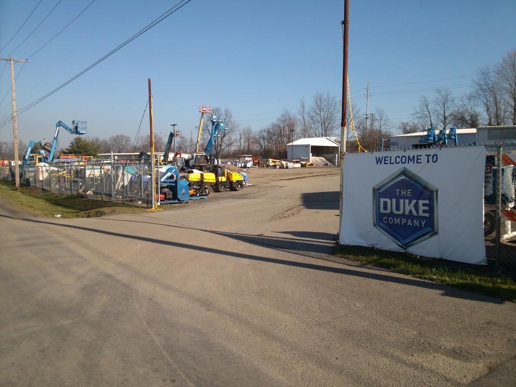 Ithaca New York Construction Equipment Rental Store - Duke Company