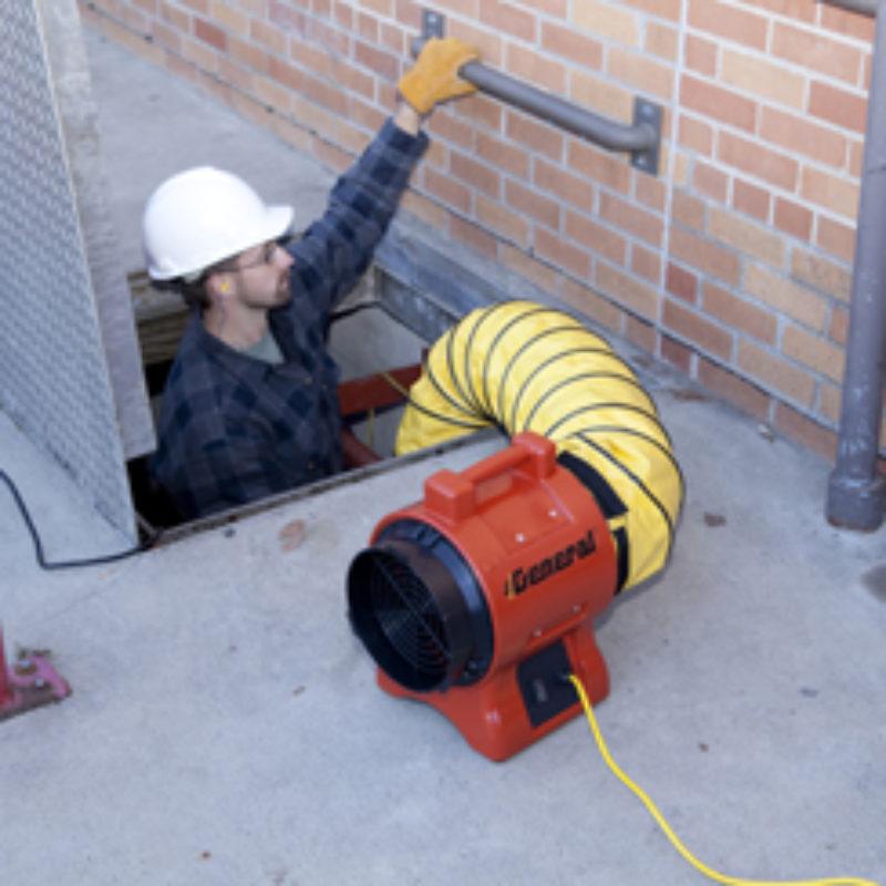 Manhole Blower Rental - General Equipment - GP8H