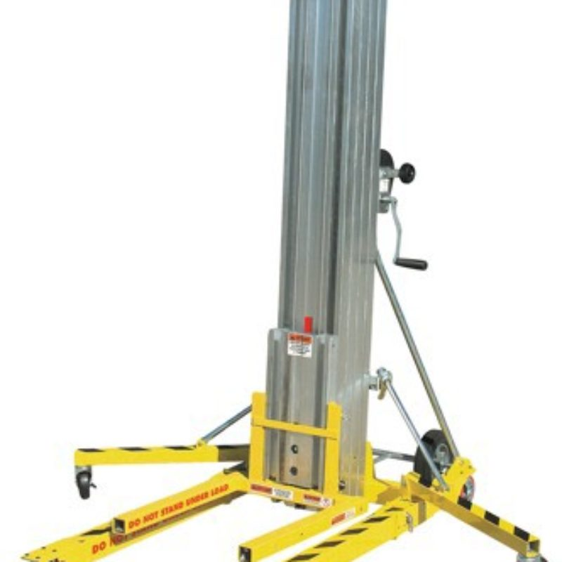 For Rental: Portable Material Lift Rentals