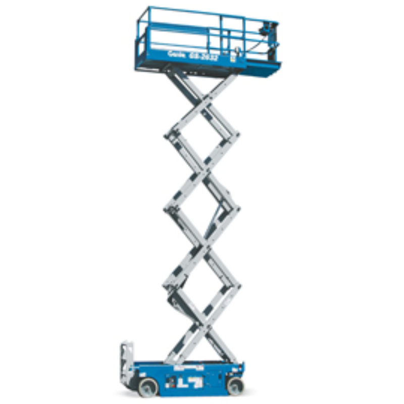 32 Foot Scissor Lift Rental - Electric - Genie GS-2632