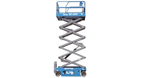 32 Foot Scissor Lift Rental - Electric - Genie GS-2646
