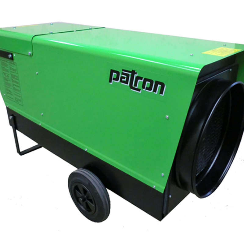 Cold Weather? In Need of 136,500 BTU's? Rent the Patron 40E from the Duke Company