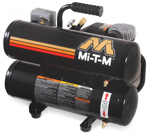 5 Gallon Portable (Electric) Air Compressors - Mi-T-M - AC1-HE02-05M1