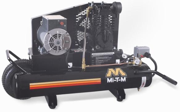 8 Gallon Portable (Electric) Air Compressors - Mi-T-M - AM1-PE02-08M
