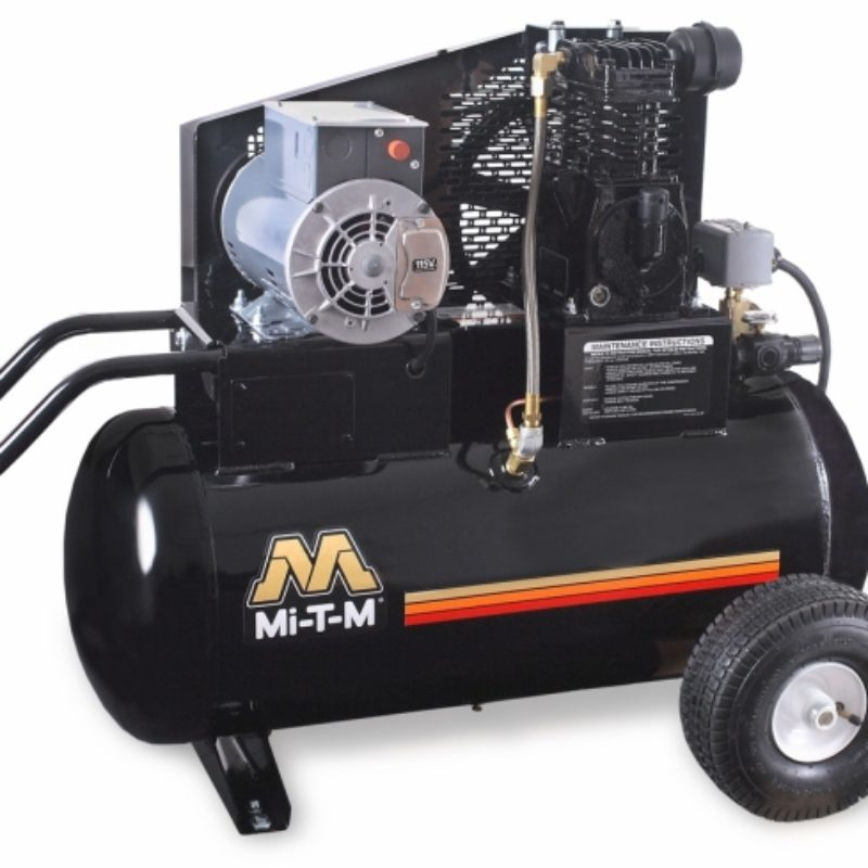 20 Gallon Portable (Electric) Air Compressor Rental - Mi-T-M - AM1-PE02-20M