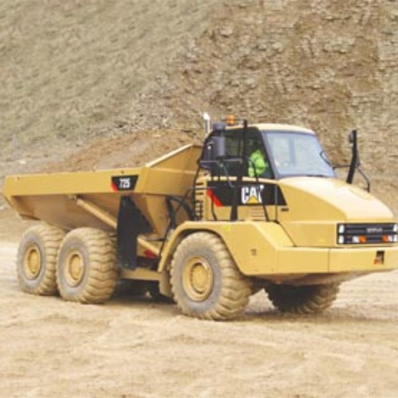 26 Ton Articulated Hauler Rental - Caterpillar - 725