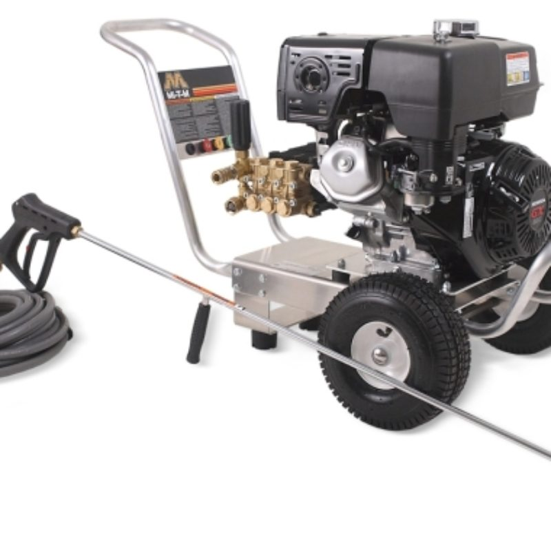 3,500 PSI Cold Water Pressure Washer Rental - Mi-T-M - CA-3504-0MHB