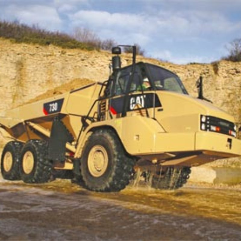 31 Ton Articulated Hauler Rental - Caterpillar - 730