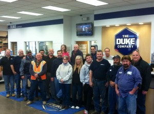 Duke Company Team Photo
