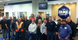 Duke Company Team Photo 2012