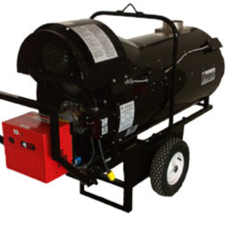Flagro – FVO-400 390,000 BTU Indirect Heaters Rental--Duke Company