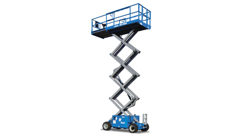 26' Scissor Lifts - Rough-Terrain - Genie GS-2669 DC