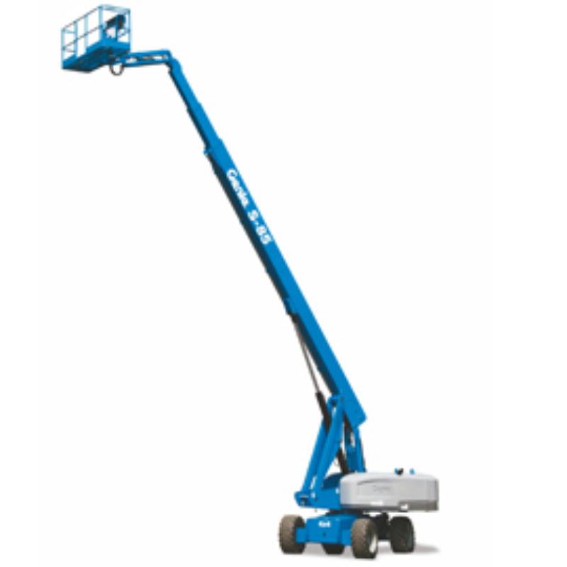 86 Foot Straight Mast Boom Rental - Genie S-80