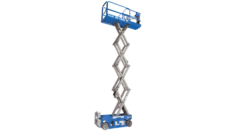 25 Foot Scissor Lift Rental - Electric - Genie GS-1930