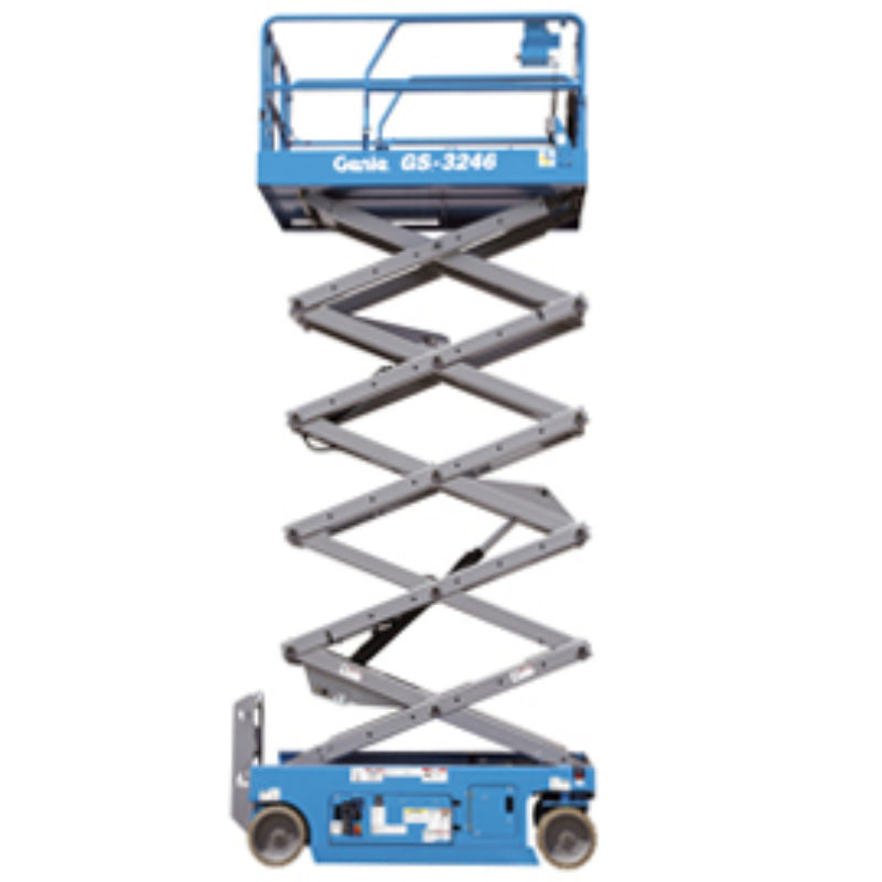 26 Foot Scissor Lift Rental - Electric - Genie GS-2046