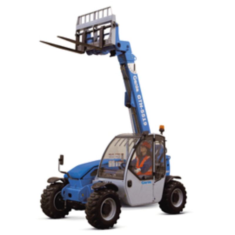 5,500 Pound Reach Forklift Rental - Genie GTH-5519
