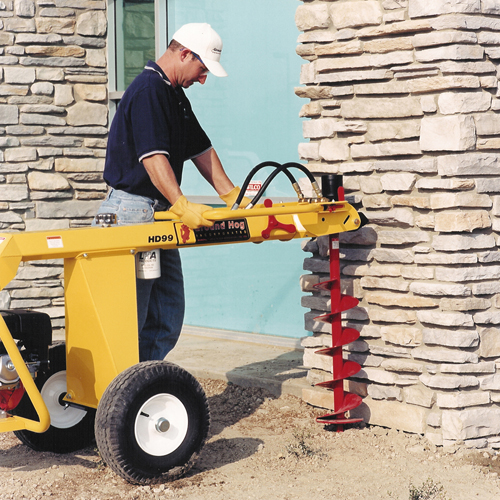 Towable 1 Man Auger Rental Ground Hog Hd99 Equipment