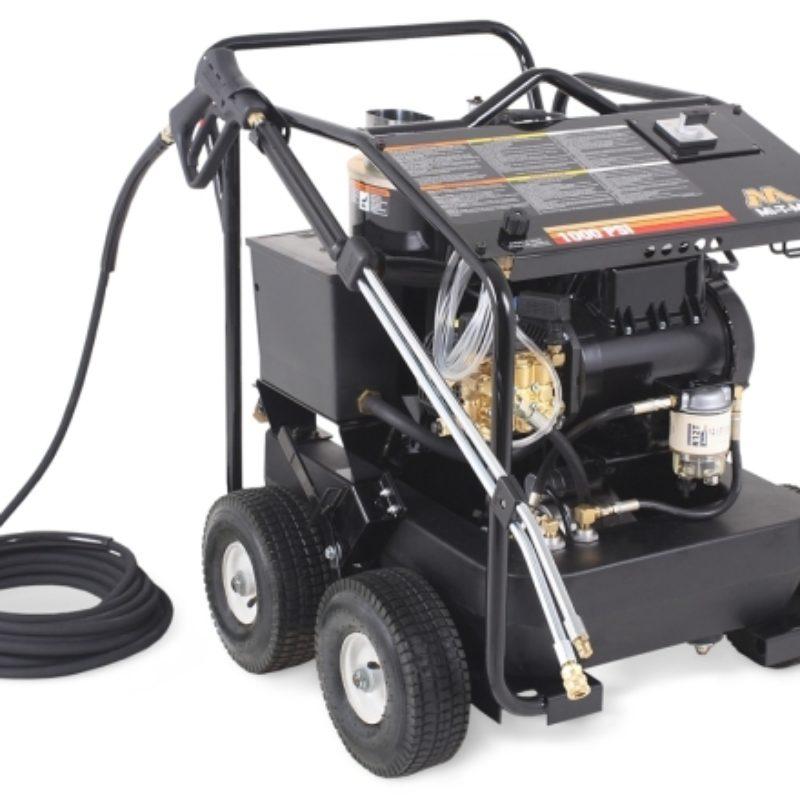 1,000 PSI Hot Water (Electric) Pressure Washer Rental - Mi-T-M - HSE-1002-2M10