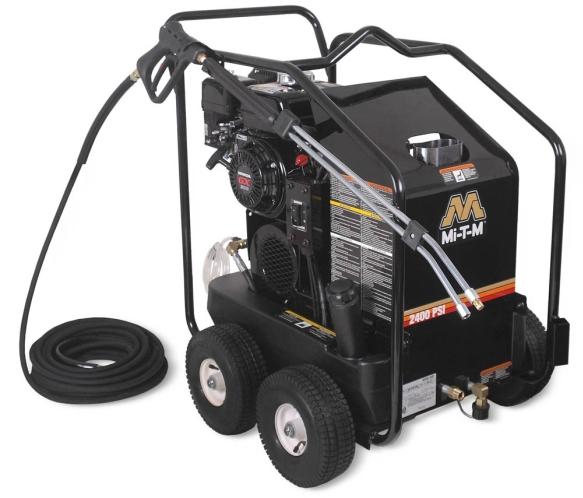 2,400 PSI Hot Water (Gas) Pressure Washer - HSP-2403-3MGH