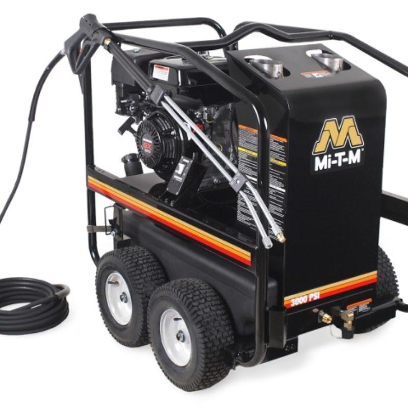 3,000 PSI Hot Water (Gas) Pressure Washer Rental - Mi-T-M - HSP-3003-3MGH