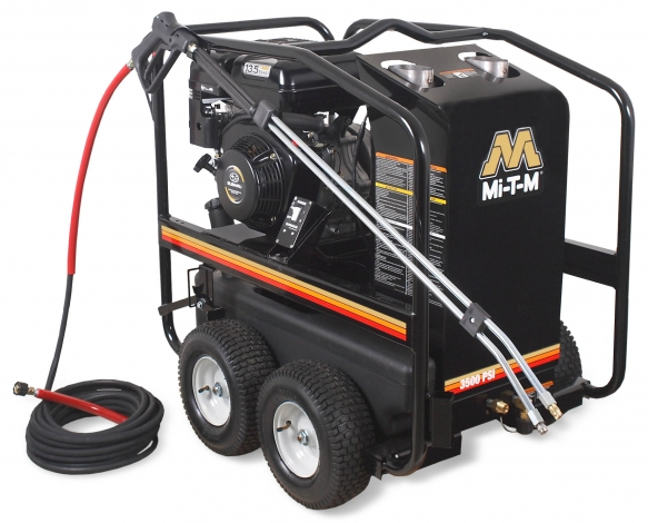 3,500 PSI Hot Water (Gas) Pressure Washer - HSP-3504-3MGK