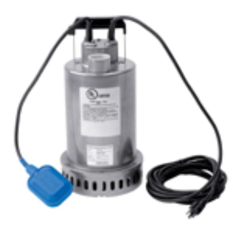 Three Quarter HP 115V Submersible Pump Rental (Top Discharge) - Honda WSP73