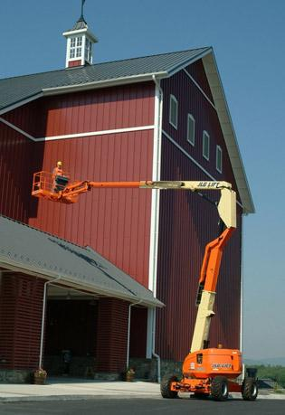 60' Articulating Boom Lifts - JLG 600AJ