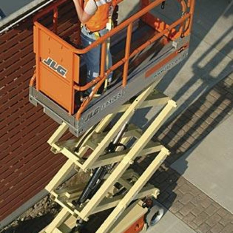 19 Foot Electric Scissor Lift Rental - JLG 1930ES