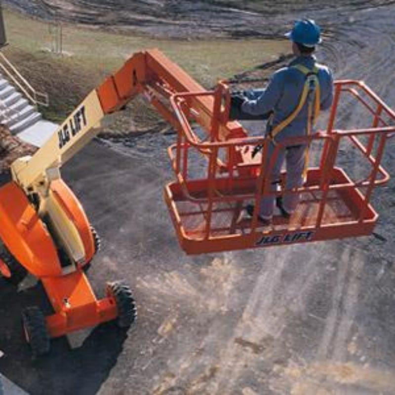 60 Foot Straight Mast Boom Lift Rental - JLG 600SJ