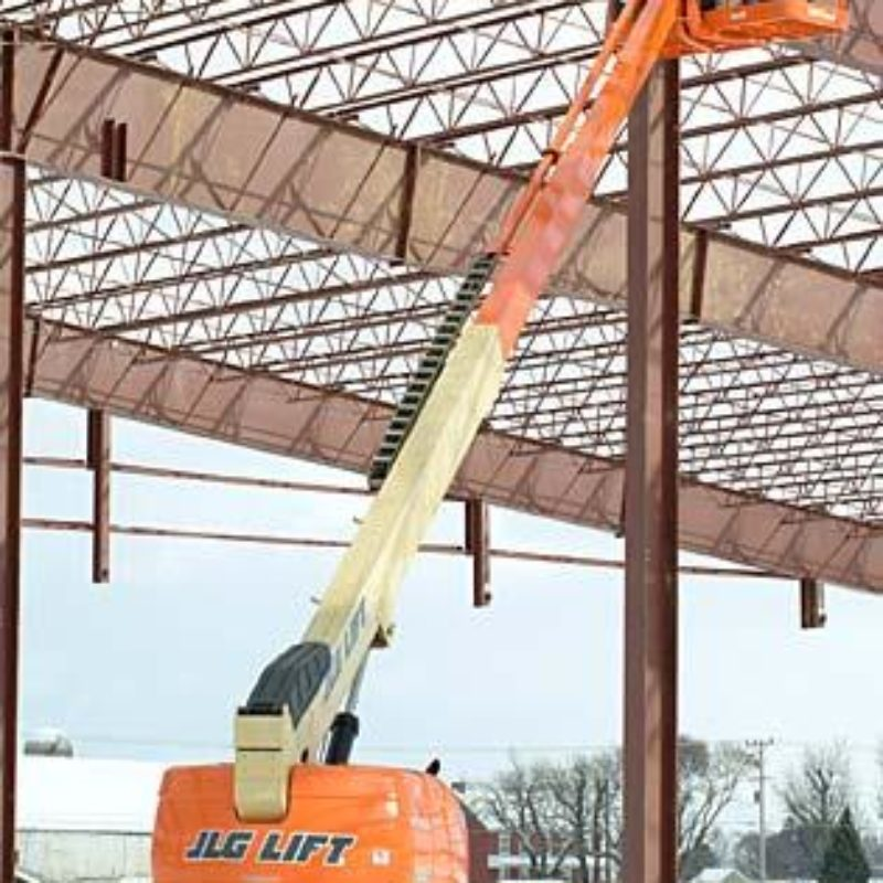 60 Foot Straight Mast Boom Lift Rental – JLG 600S--Seneca Supply Ithaca NY