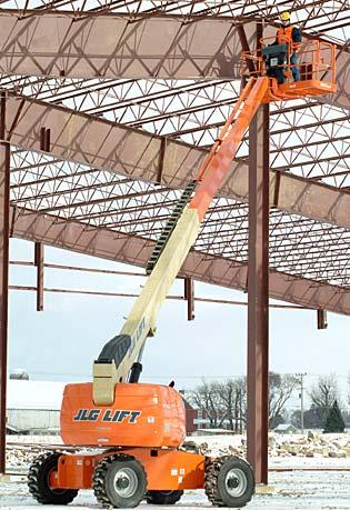 Straight Mast Boom Lifts - JLG 600S