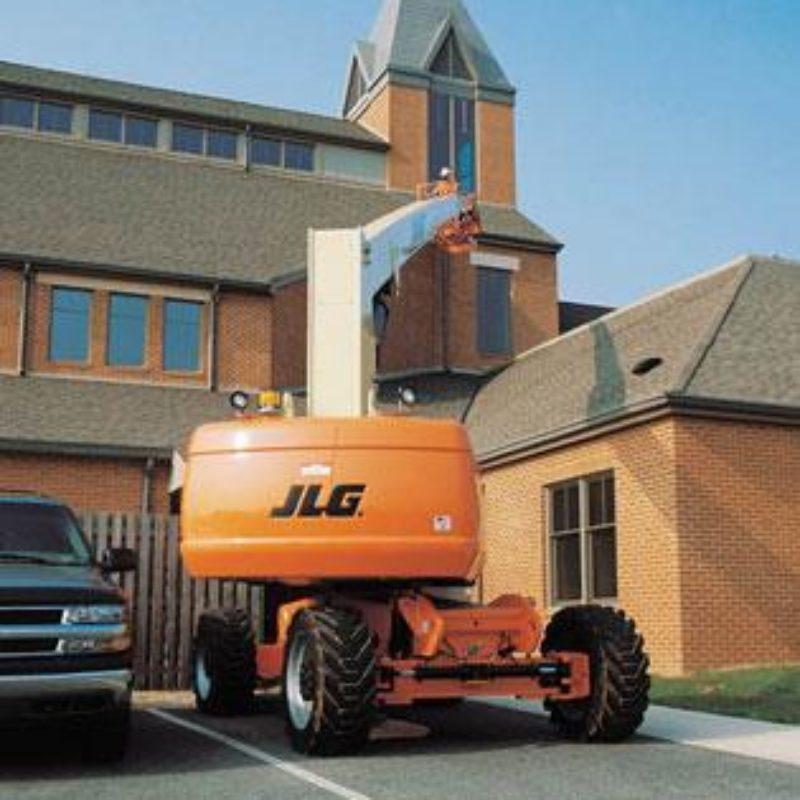 80 Foot Straight Mast Boom Lift Rental - JLG 800S