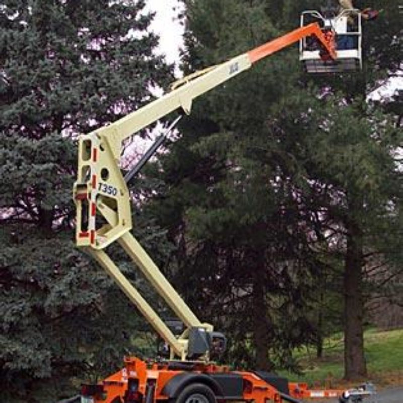 35 Foot Towable Boom Lift Rental - JLG T350
