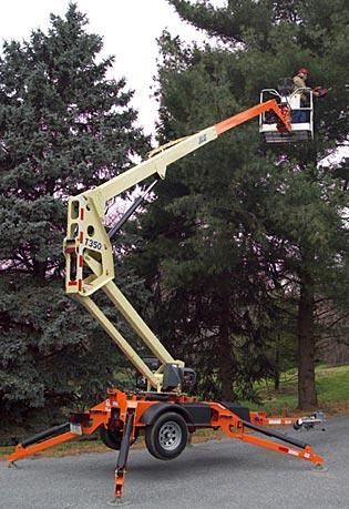 Towable Boom Lifts - JLG T350