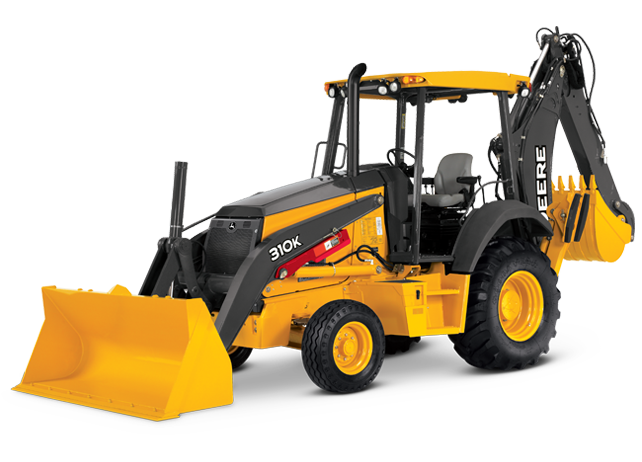 Backhoe Rental - John Deere 310 EK