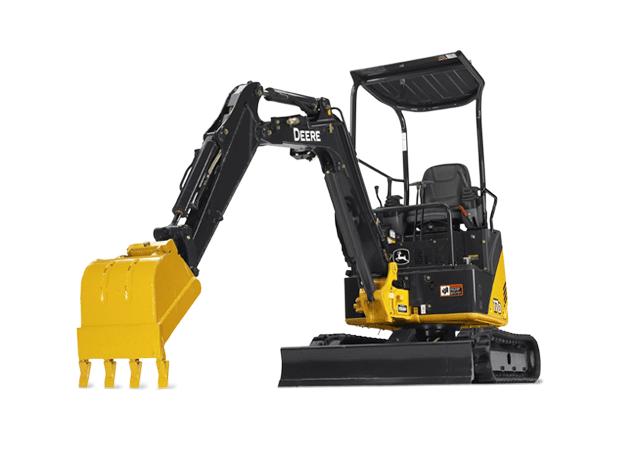 Compact Excavator Rental - John Deere 17D