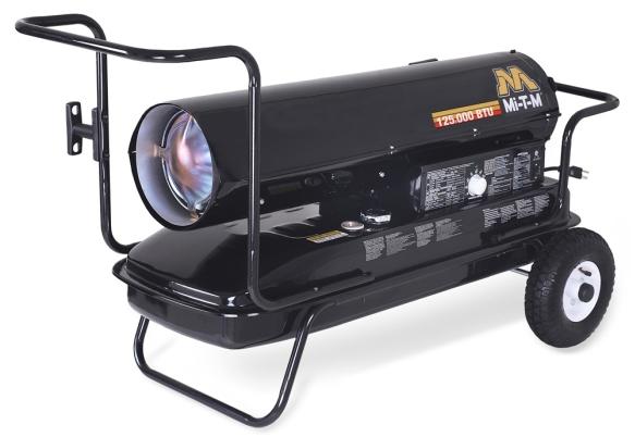 70,000 BTU Forced Air (Kerosene) Heater - Mi-T-M - MH-0125-0M10