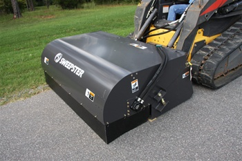 "72"" Hopper Broom Attachments - Sweepster"