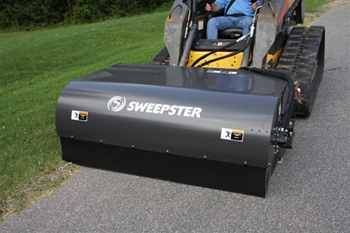 "84"" Hopper Broom Attachments - Sweepster"