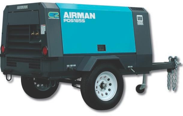 400 CFM Air Compressor - MMD PDS400S